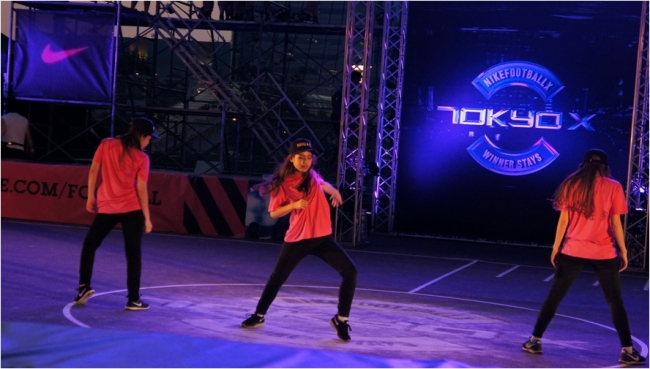NIKE主催のフットボールイベントにstyleがゲスト出演