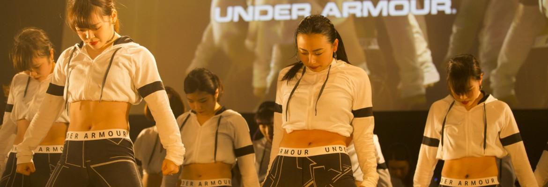 UNDER ARMOUR社特設サイトにFASHION DANCE NIGHTの衣装が掲載されました