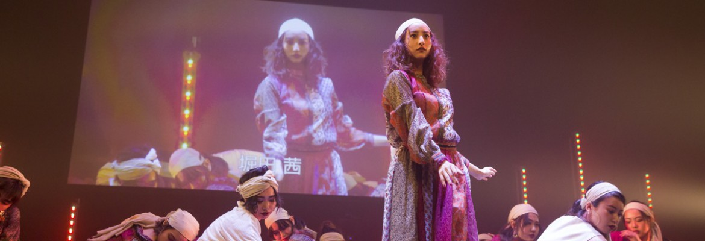 「FASHION DANCE NIGHT」Ungridステージに堀田茜が登場!